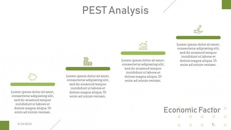 PEST Analysis Economic Factors