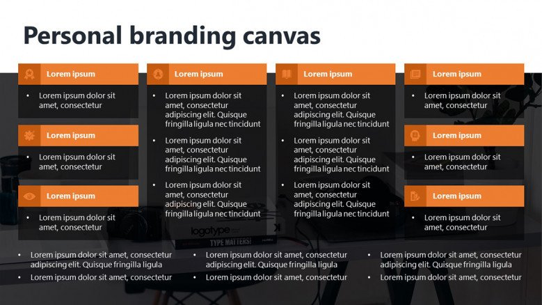 Personal Branding Canvas Template