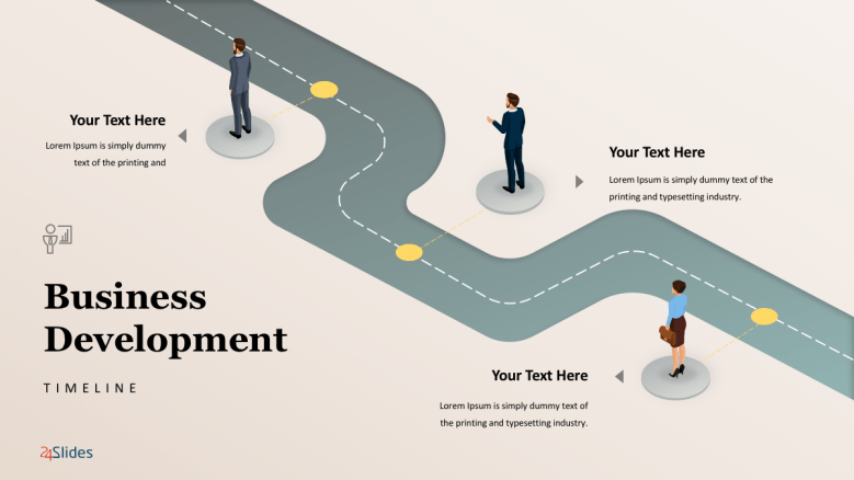 Business Roadmap Template Free Powerpoint Templates