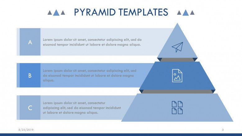 Strategic Pyramid Chart
