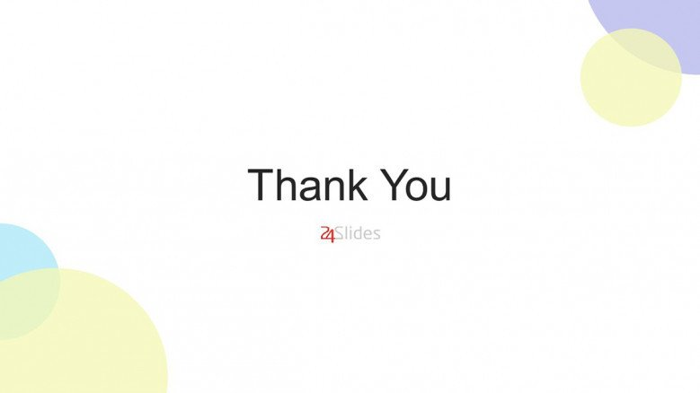 Simple and creative thank you slide for PowerPoint presentations