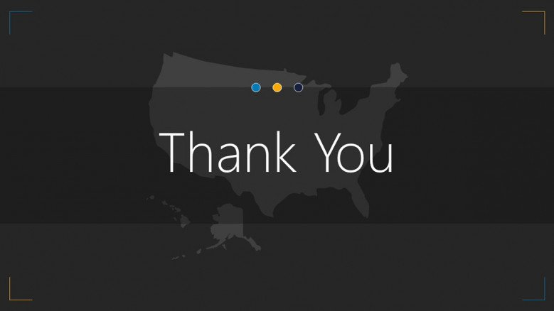 thank you slide for USA map