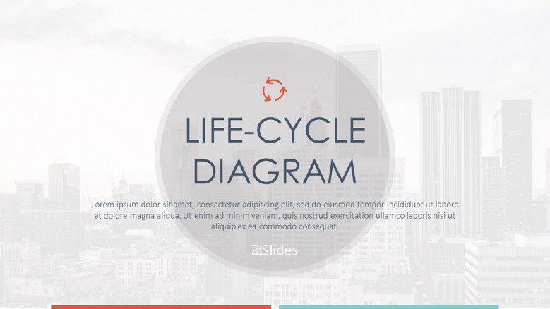 Life-cycle Diagram Welcome Slide