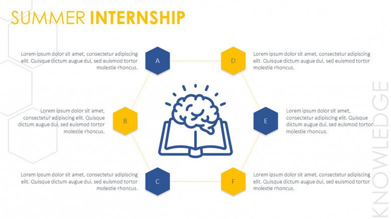 MBA Summer Internship Diagram