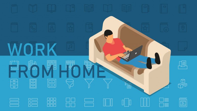 Work from home PowerPoint Template