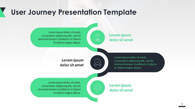 Corporate User Journey Free Powerpoint Templates