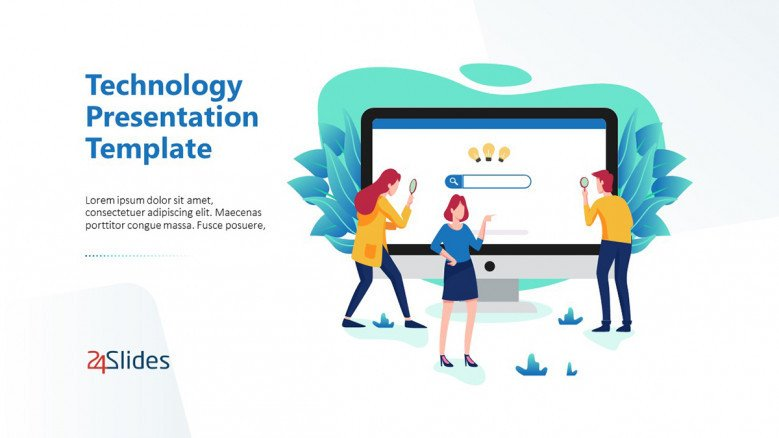 New Technology Presentation Template