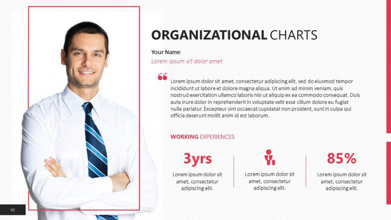 employee describing organizational function
