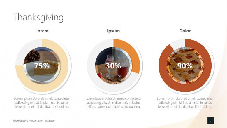Happy Thanksgiving Presentation Free Powerpoint Template