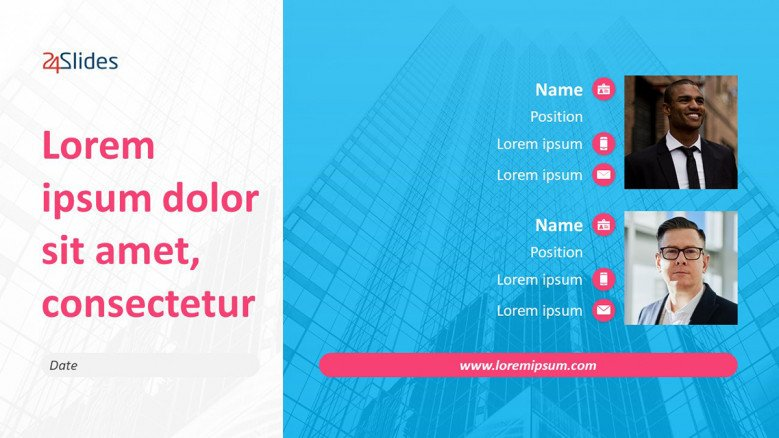 Creative Webinar Banner Template in PowerPoint