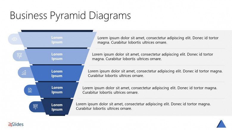 Pyramid Hierarchy Template Free Powerpoint Template