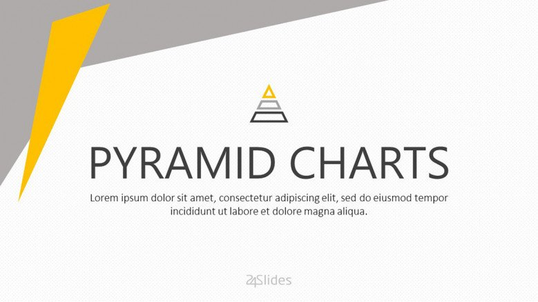 welcome slide for pyramid chart