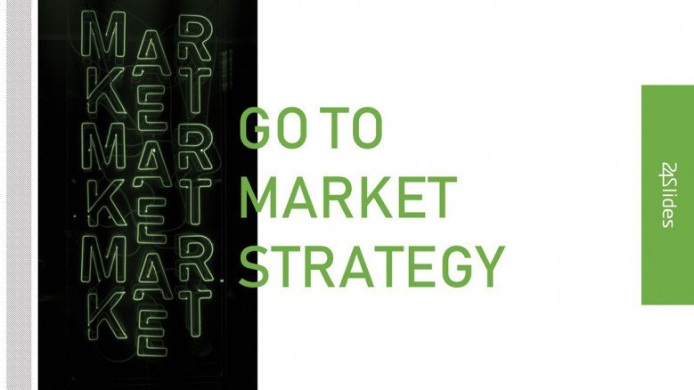 Creative Title Slide for a Go To Market Presentation