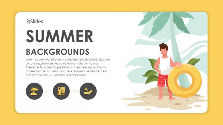 Summer PowerPoint Background