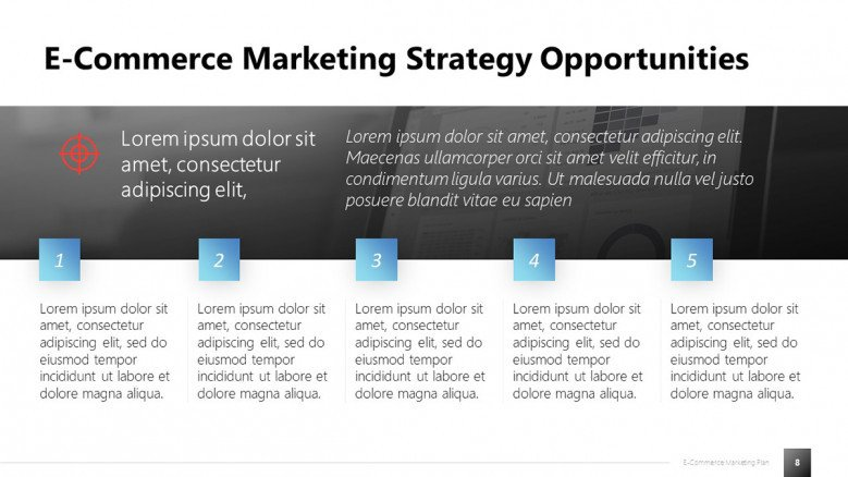 E-commerce Marketing Opportunities Slide