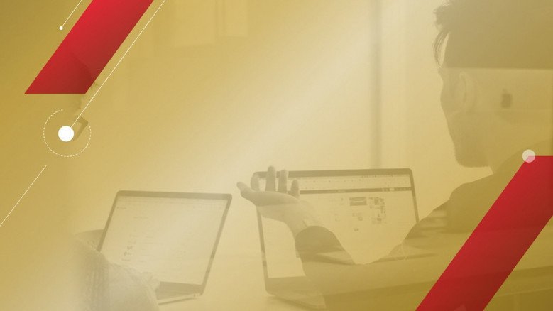 Red and Gold PowerPoint Template