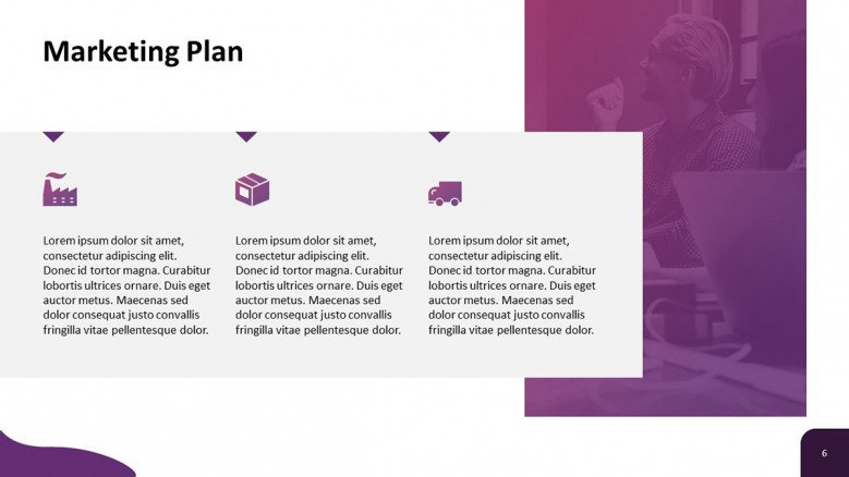 Marketing Plan Slide