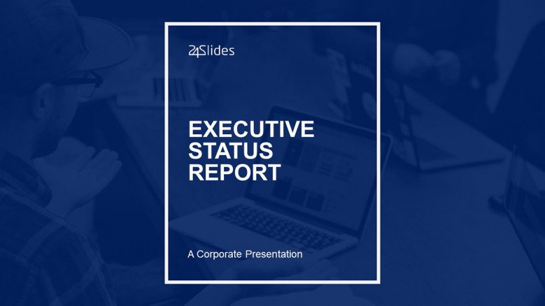 Project Status Presentation Template Free Powerpoint Template