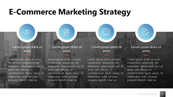 Marketing Strategy for E-commerce Slide