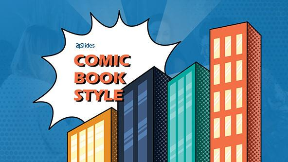 Comic Book Themed PowerPoint Template