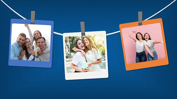 FREE Creative Photo Album Template PowerPoint Template