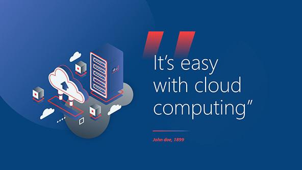 Cloud Computing Quote Slide