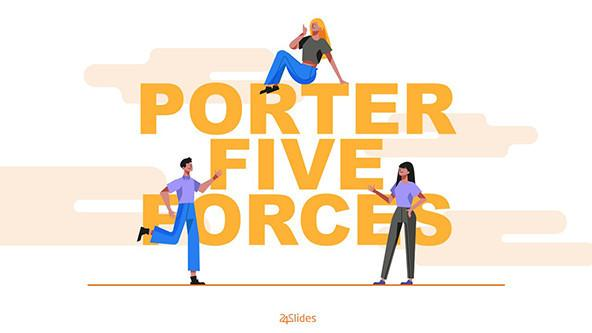 Illustrated Slides for a Porter Five Forces Analysis