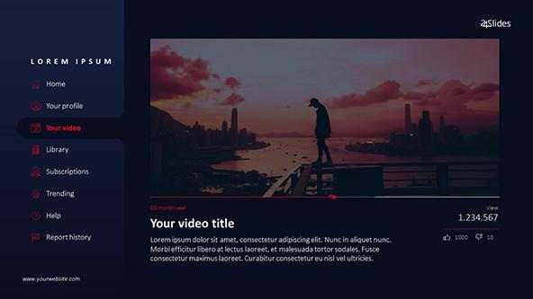 FREE YouTube PowerPoint Template PowerPoint Template