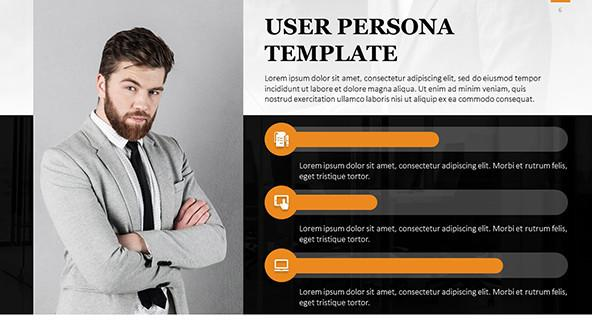 FREE User Persona PowerPoint Template PowerPoint Template