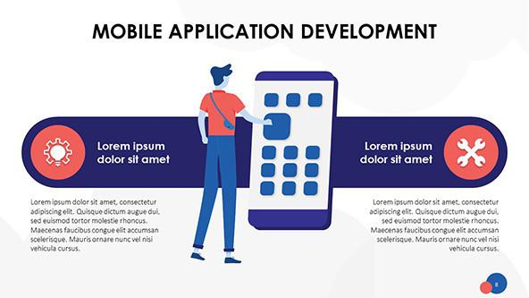 FREE Mobile Application PowerPoint Template PowerPoint Template