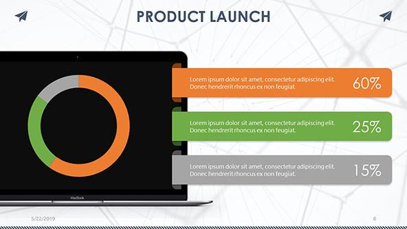 FREE Creative Product Launch PowerPoint Template PowerPoint Template
