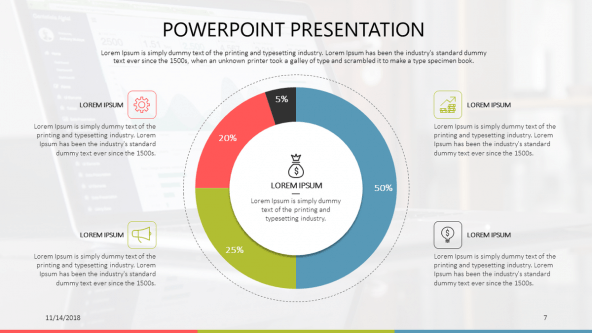FREE Google Slides Generic Data Driven Presentation Template PowerPoint Template