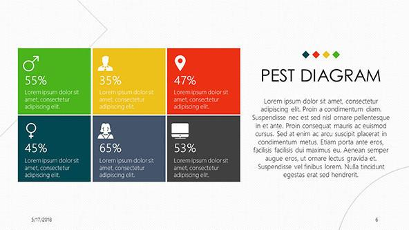 FREE Google Slides PEST Diagram Template PowerPoint Template