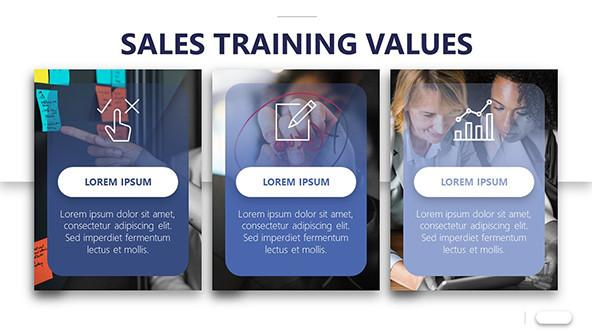 FREE Sales Training Program Presentation Template PowerPoint Template