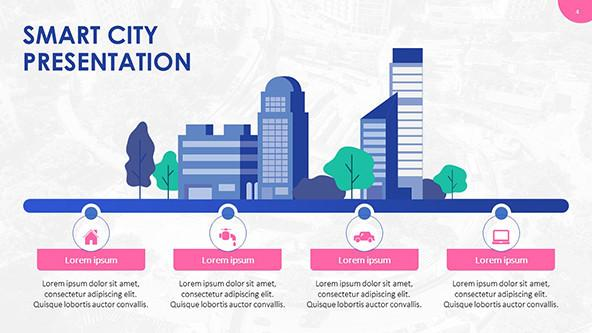 FREE Smart City PowerPoint Template PowerPoint Template
