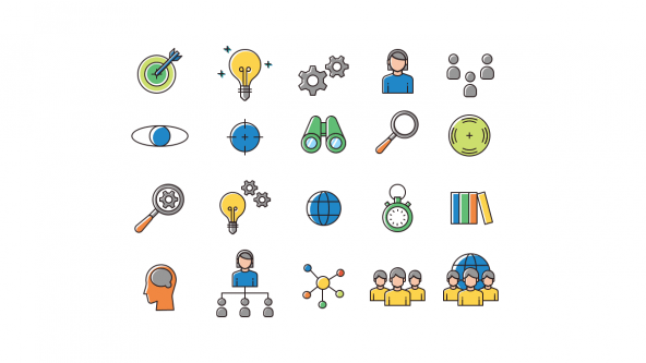 Strategy Presentation Icons