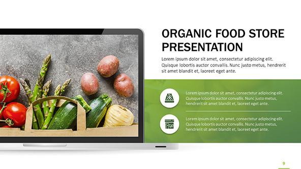 Organic Food Store PowerPoint Presentation
