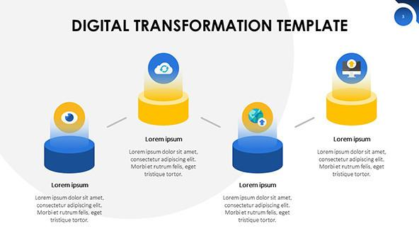 FREE Digital Transformation PowerPoint Template PowerPoint Template