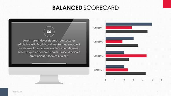FREE Google Slides Balance Scorecard Template PowerPoint Template